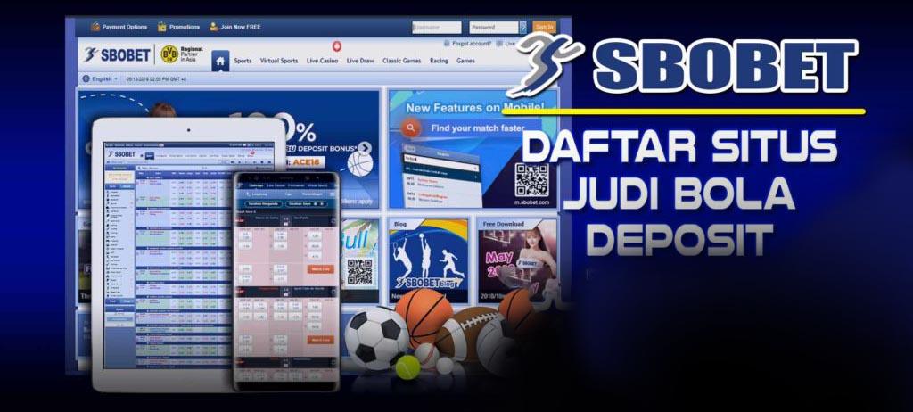 Situs Judi SBOBET88 Bola Online Terpercaya Deposit Pulsa